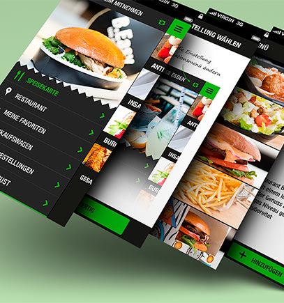 Мобильное приложение для ресторана или кафе