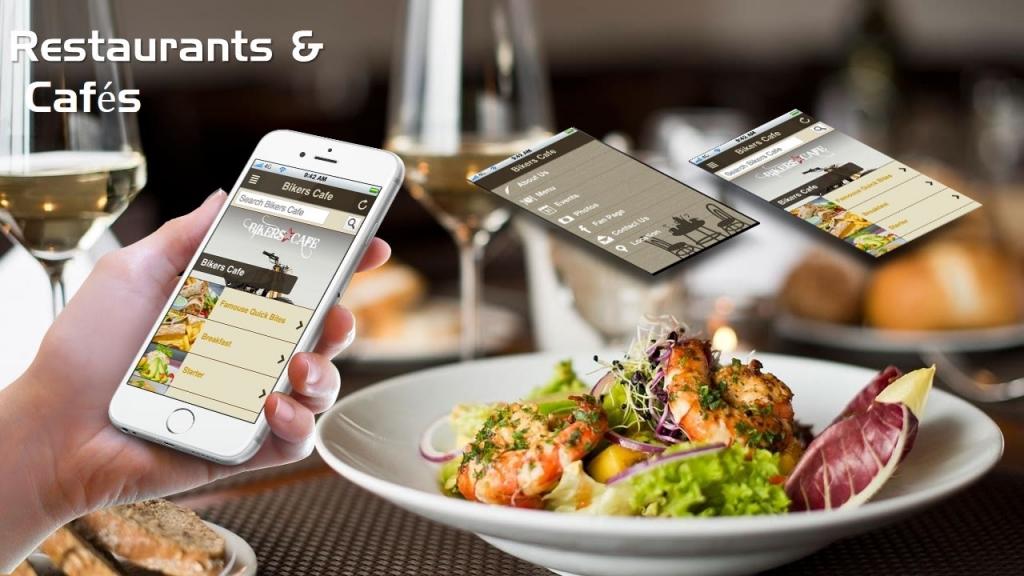 Мобильное приложение для ресторанов с доставкой заказов