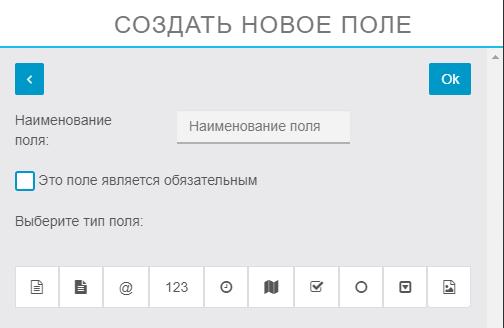 Форма записи в мобильном приложении